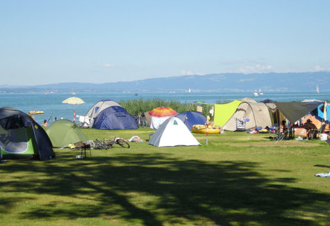 Arbon, Camping